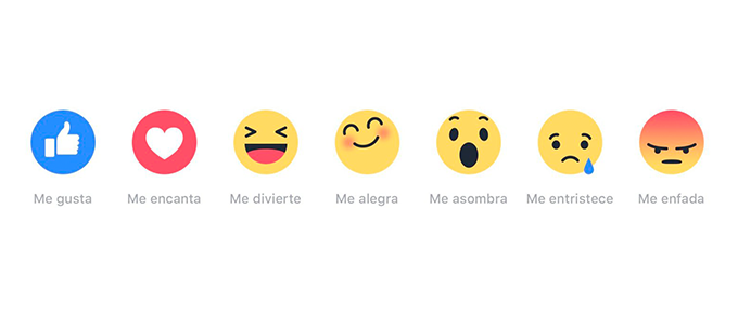 Faceook, Reacciones Facebook, Métricas Facebook