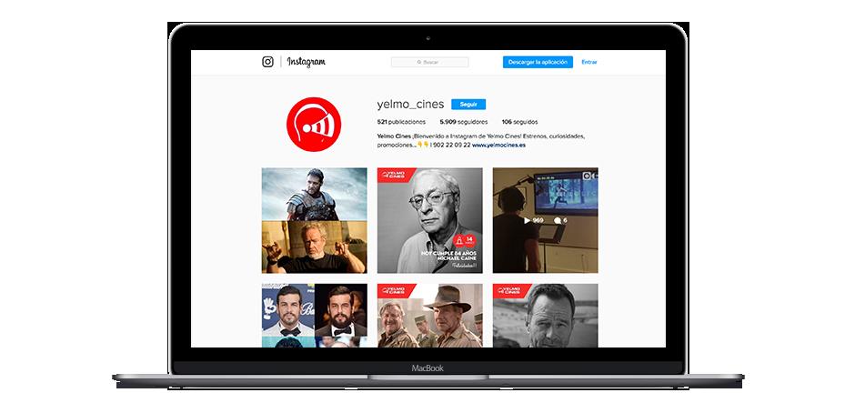 Estrategia Social Media Yelmo Cines