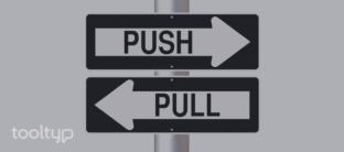 push and pull, estrategia marketing, ecommerce